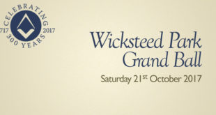 Wicksteed Park Grand Balll