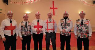 Thistle & Rose Lodge #6644 celebrate St.Georges day at the Corby Masonic Complex.